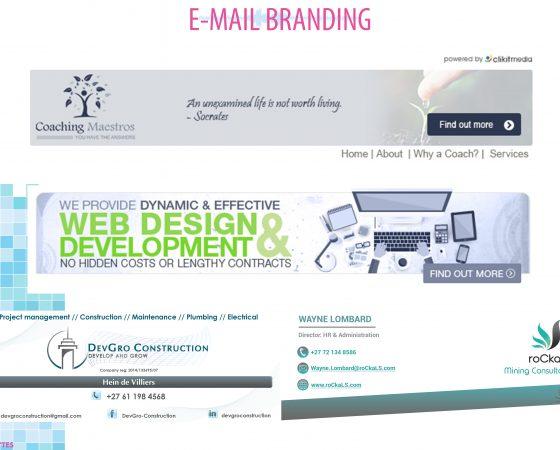 E-mail Branding